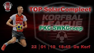 TOP/SolarCompleet 2 tegen PKC/SWKGroep 2, dinsdag 22 januari 2019