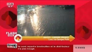 Nord-Pas-de-Calais : Violentes pluies et inondations