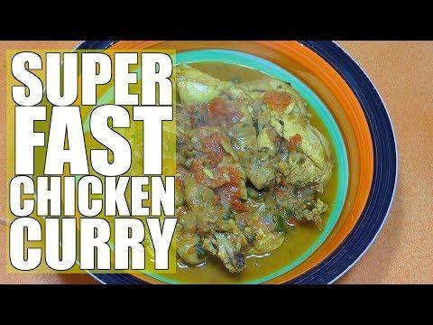 Easy Chicken Curry - Super Fast Chicken Curry - How to make Chicken Curry - Simple Chicken Curry