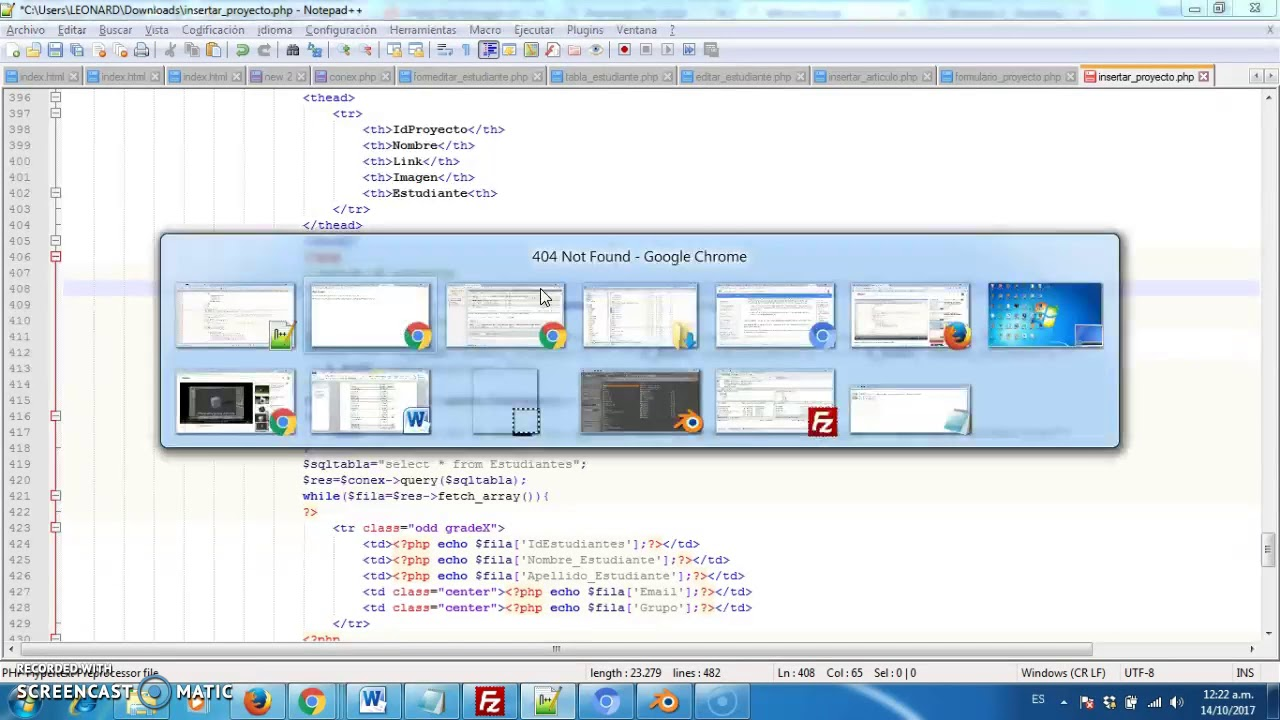 Boostrap,PHP, Mysql Parte 7 , formularios Plantilla SBAdmin2 - YouTube