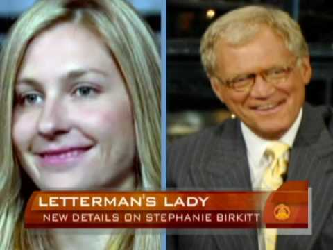 David letterman scandal