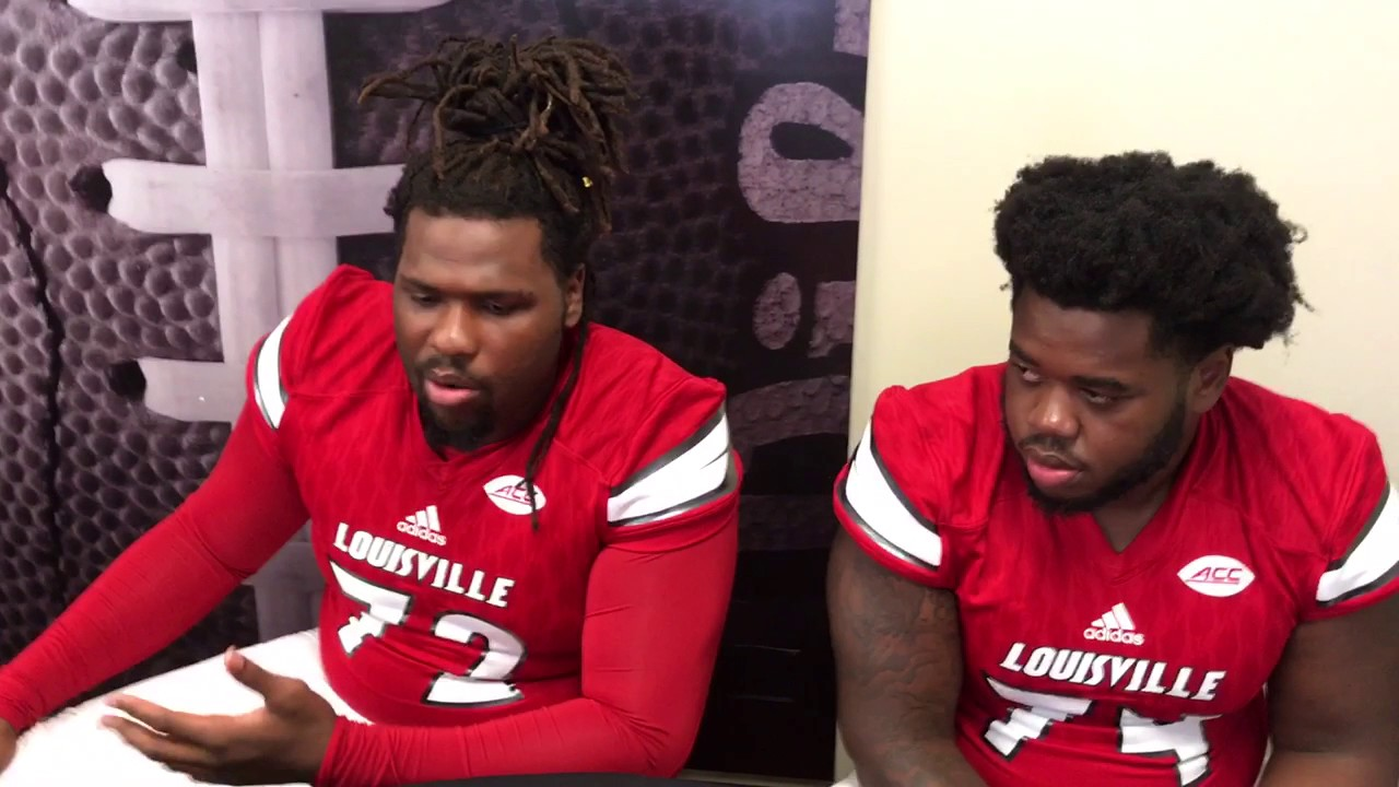 factory authentic 9a1d9 9993b Lukayus McNeil, OL, 6-6, 324 and Geron Christian, OL, 6-6, 315