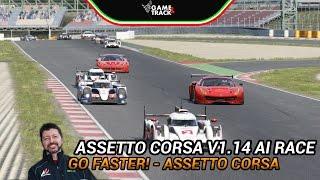 (EN) Assetto Corsa PC v1.14 & Ready2Race DLC - GT3, GT2, LMP1 Race! (Aris)