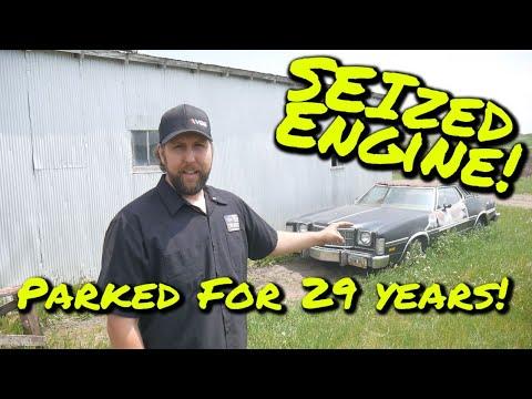 SEIZED Gran Torino Elite will it RUN & DRIVE after 29 years? - Vice Grip Garage EP89