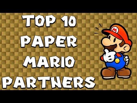 Top 10 Paper Mario Partners