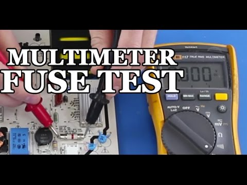 How to Test a Fuse on Your TV Power Supply - TV Repair - YouTube