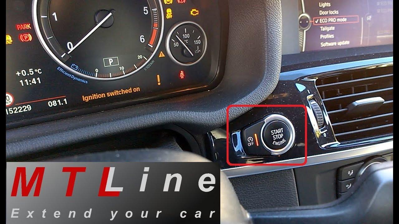 BMW X3 - F25, MY2013 - start/stop memory function – spominska funkcija za  start/stop sistem