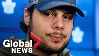 Toronto Maple Leafs' Auston Matthew responds to disorderly conduct complaint