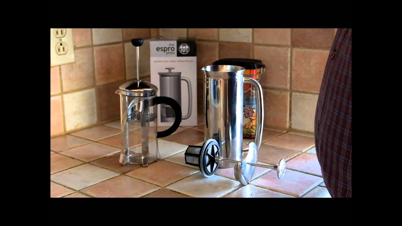 Our review of the 8-ounce Espro press - YouTube