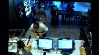 Starbucks Customer Thwarts Robbery by Attacking Suspect