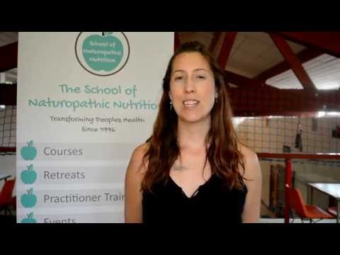 Becoming a certified nutritionist with the school of naturopathic nutrition