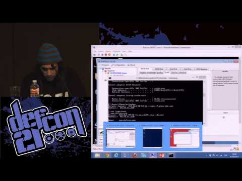DEF CON 21 - Chema Alonso - Fear the Evil FOCA IPv6 attacks