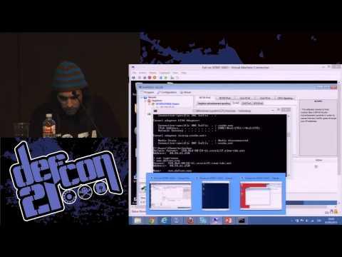 DEF CON 21 - Chema Alonso - Fear the Evil FOCA IPv6 attacks