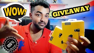 Best Earphone Under 500 Rupees ( Realme Earbuds with Mic) | Unboxing, Review and Overview | GIVEAWAY