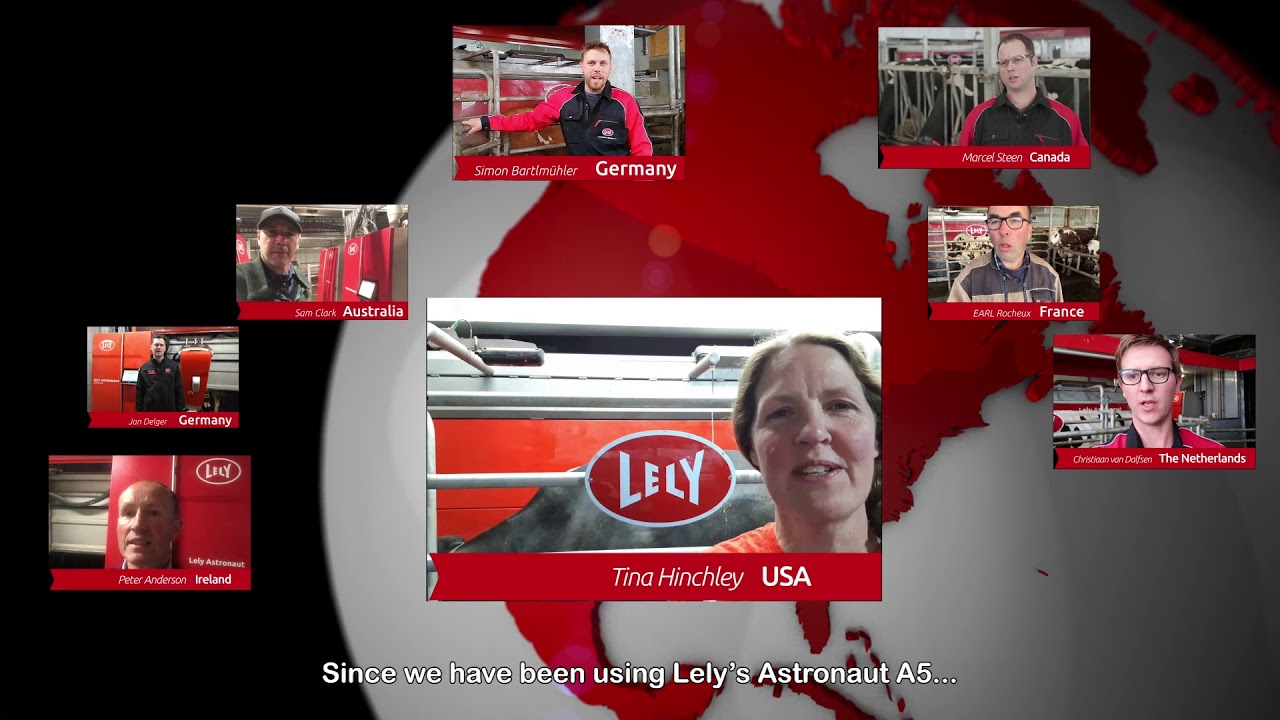 Lely Astronaut A5 – One year experiences – video 6 (EN)