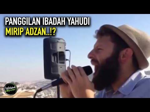 Coba Dengar! Panggilan Ibadah Yahudi Yang Mirip Banget Adzan Islam