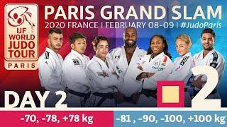 Judo Paris Grand Slam 2020: Day 2 - Tatami 2