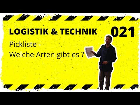 logistik&technik #021: Pickliste - Welche gibt es und welche empfehlen wir?