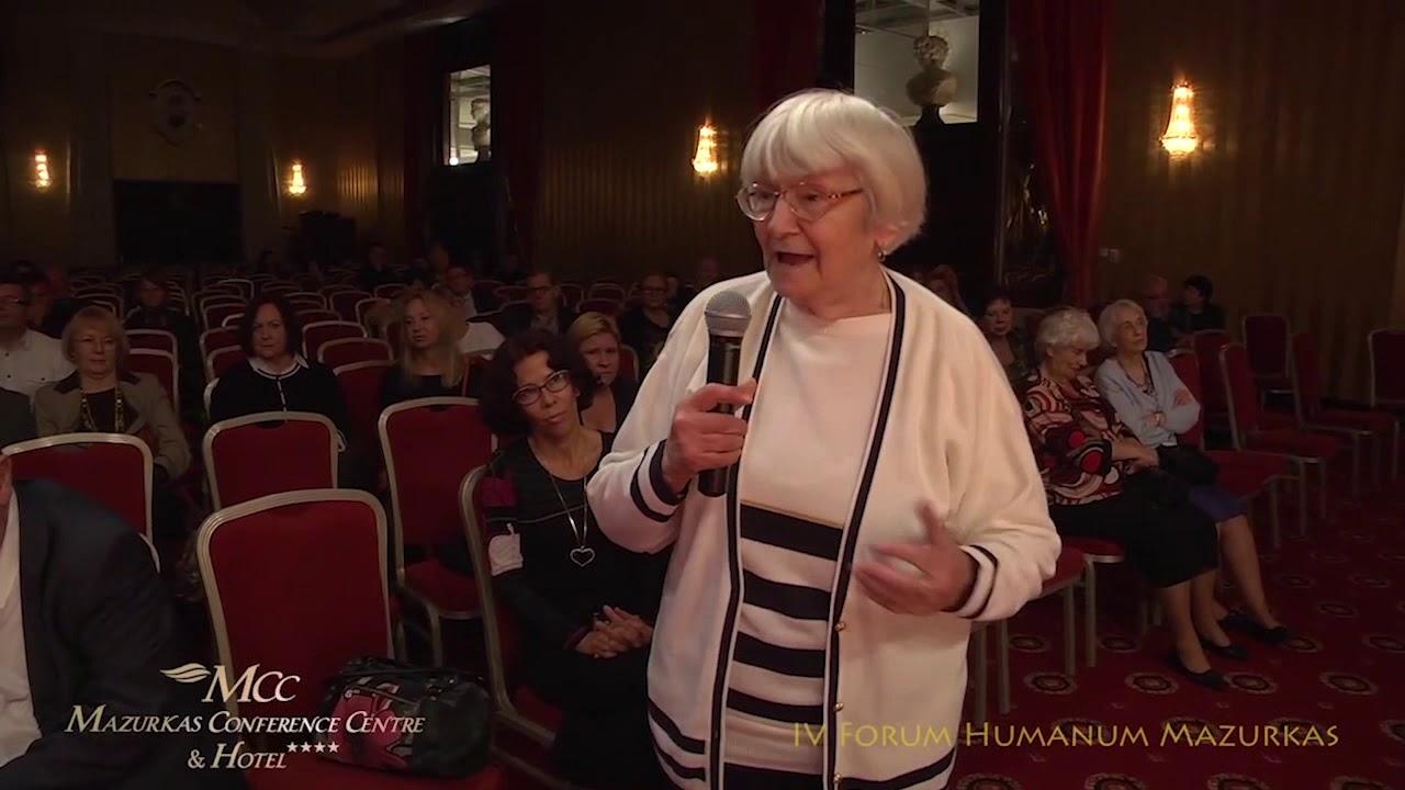 IV Forum Humanum Mazurkas -dyskusja  po koncercie i wernisażu ...