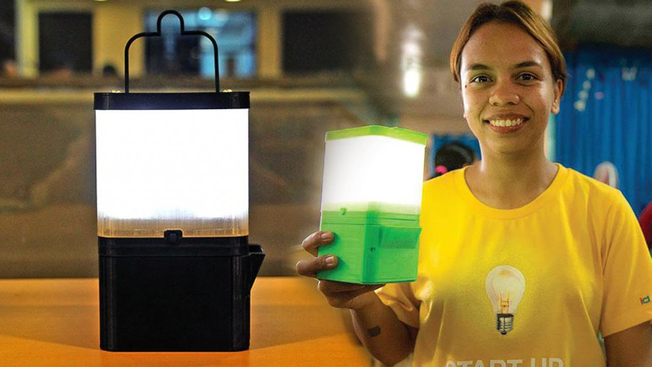 Filipinos invented a Lamp that runs in Salt and Water