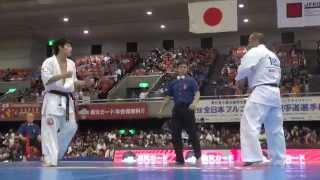 第2回全日本フルコンタクト空手道選手権大会初日から 軽重量級の3回戦...