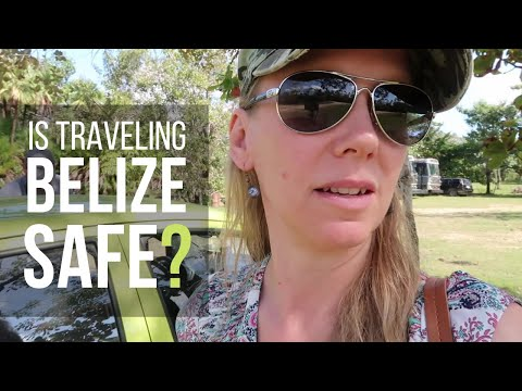 IS BELIZE SAFE? San Ignacio, Belize to Bacab Eco Park | Trav