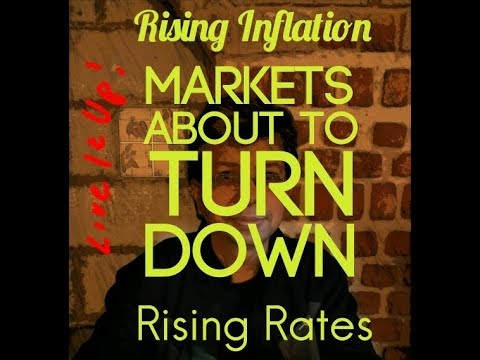 Markets about to Turn Down Falling Dollar  Rising Rates and Inflation