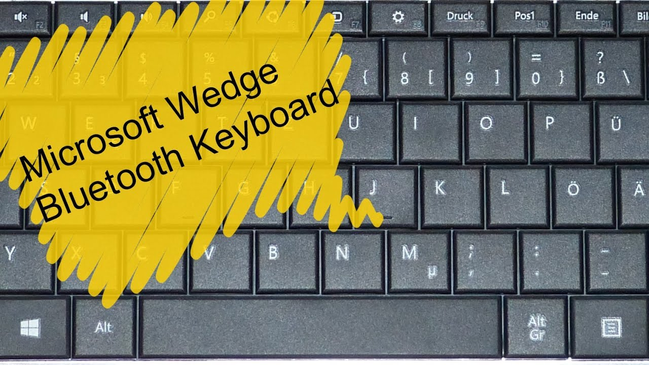 Microsoft Wedge Keyboard Unboxing and Setup with Vivotab Note 8