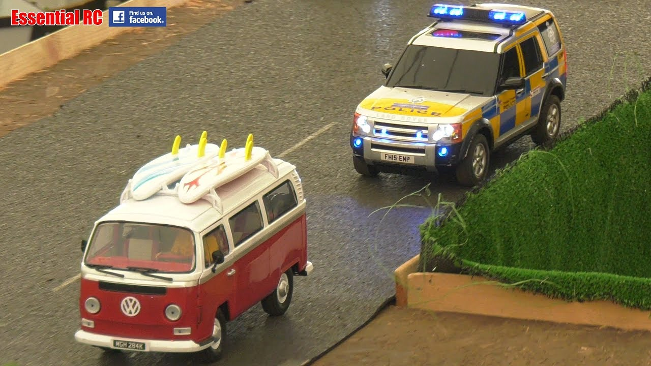 Rc Police Car Pursuit Siren Flashing Lights Stolen