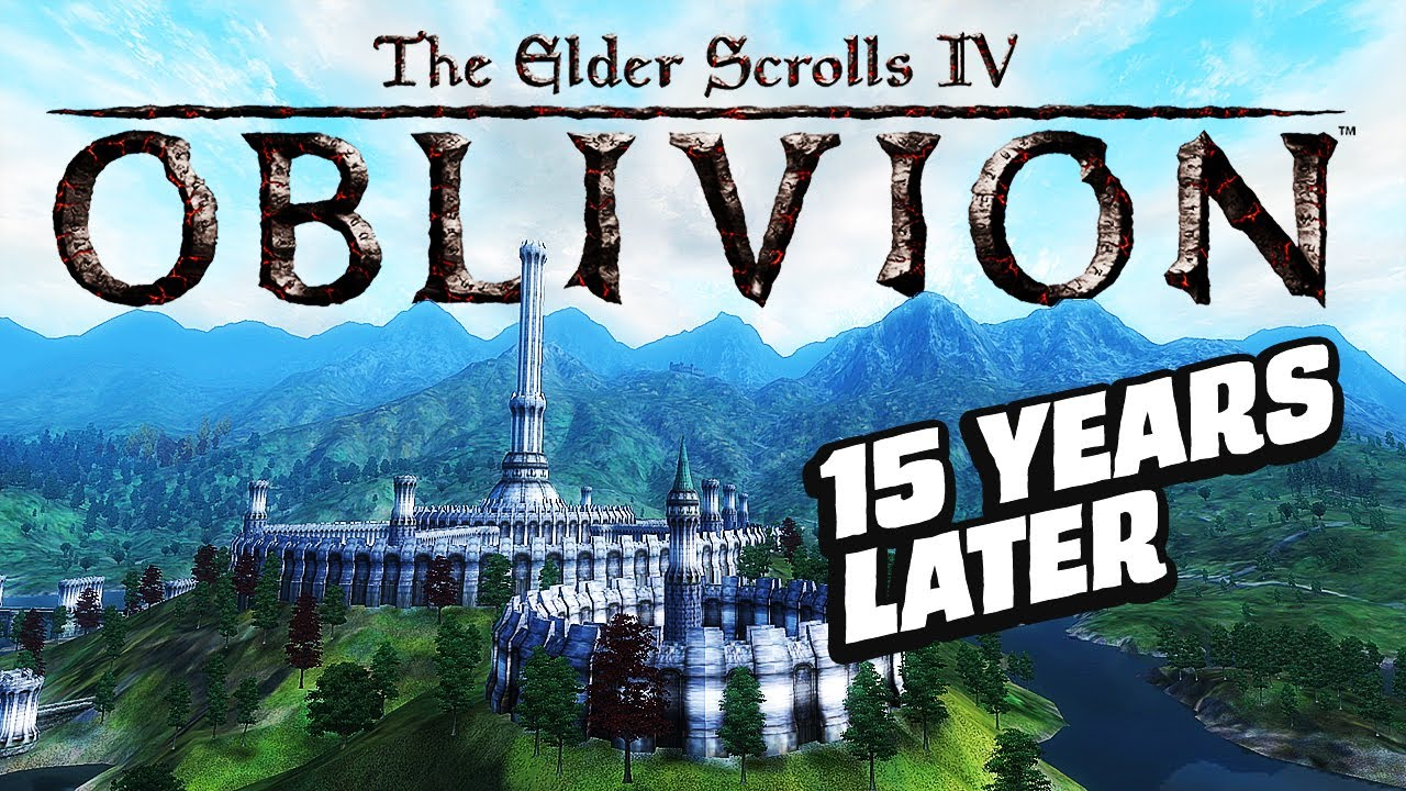 Skyrim den öncesi - Elder Scrolls 4 Oblivion [ Türkçe ]