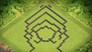 clash of clans Rathaus 10 ck base/trophy base - clash of bases