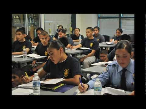 LAPD Newton Cadets: the largest group in the region