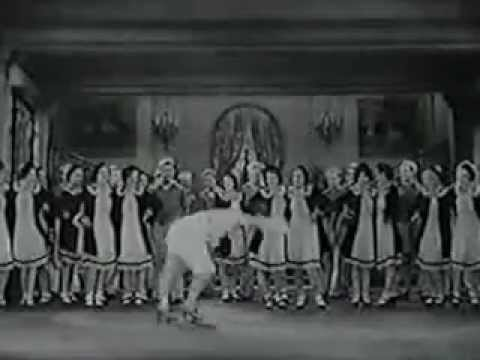 (1930) Good News - Penny Singleton and (Rubber Legs) Al Norman met Abe Lyman and his Orchestra.avi