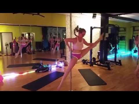 Pole Dance Training - MIRACLE SPLIT Var.