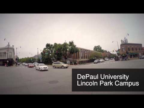 Chicago urban commute: Biking between DePaul University campuses on a Divvy