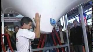 Французы имитируют пролив в натяжной потолок