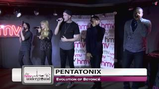 Pentatonix - Evolution of Beyoncé (Live at The hmv Underground)