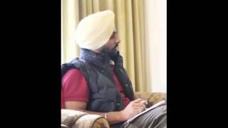 Harpreet dhaliwal on radio gaunda punjab 22-01-2013
