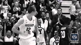 BYU Basketball-Josh Sharp