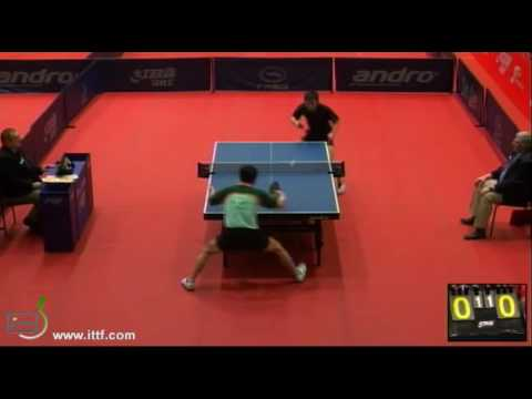 ITTF World Tour Polish Open 2013 CHEN Hongtao vs WANG LI Chung-Yi