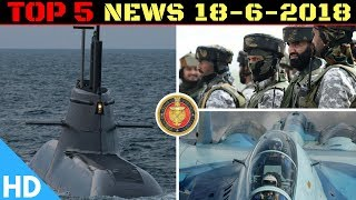 Indian Defence Updates : Germany Offers Type 214 to India,1st India Japan Army Exercise,Malabar 2018