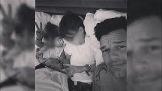 Ricky Martin explica a sus hijos por qué tienen dos papás