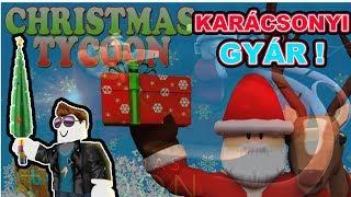 CHRISTMAS SIMULATOR! | CHRISTMAS AJÁNDÉKGYÁRAM! | Roblox Christmas Tycoon