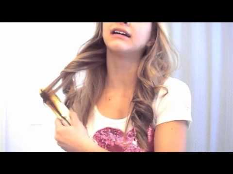 loose curls hair styles soft curls with a straightener hair tutorial 9404 | hqdefault