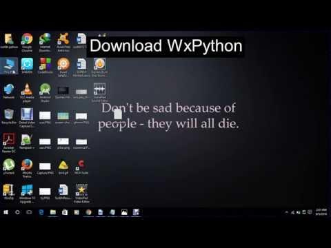 WXPYTHON 3.3 TÉLÉCHARGER