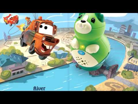 disney-pixar-cars-2:-world-adventure-tag-book---learn-to-read-book-for-kids-|-leapfrog