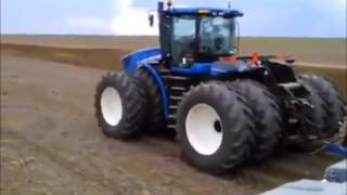 New Holland T9.560 - Plantando 24 Horas!