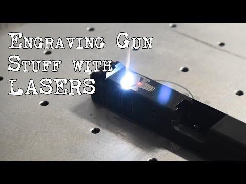 Engraving Gun Parts With A Laser!