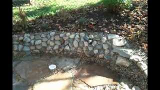 Envisions Landscape Construction  Ashland Ohio 419-557-8386 Stone Work Koi Pond 2012