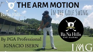 The Arm Motion In The Golf Swing